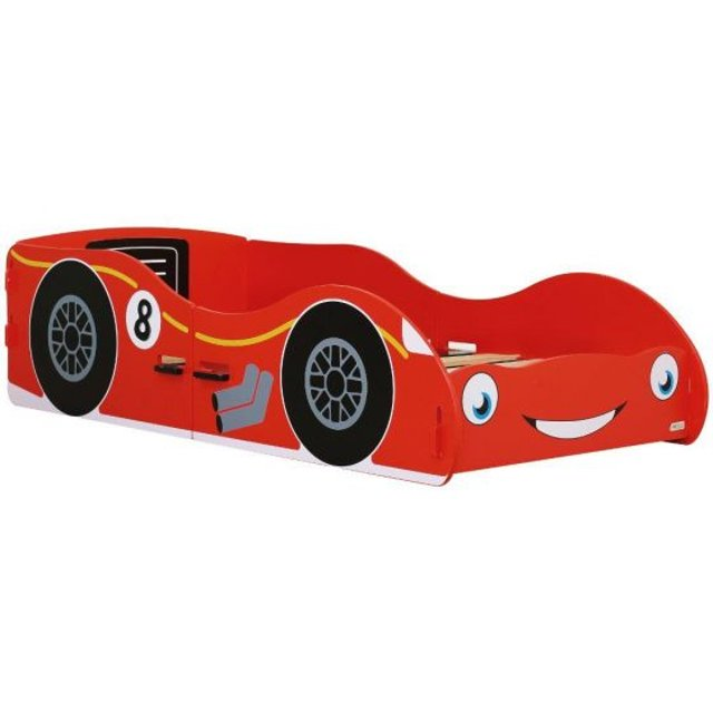 Red Racing Car Children's Toddler Bed