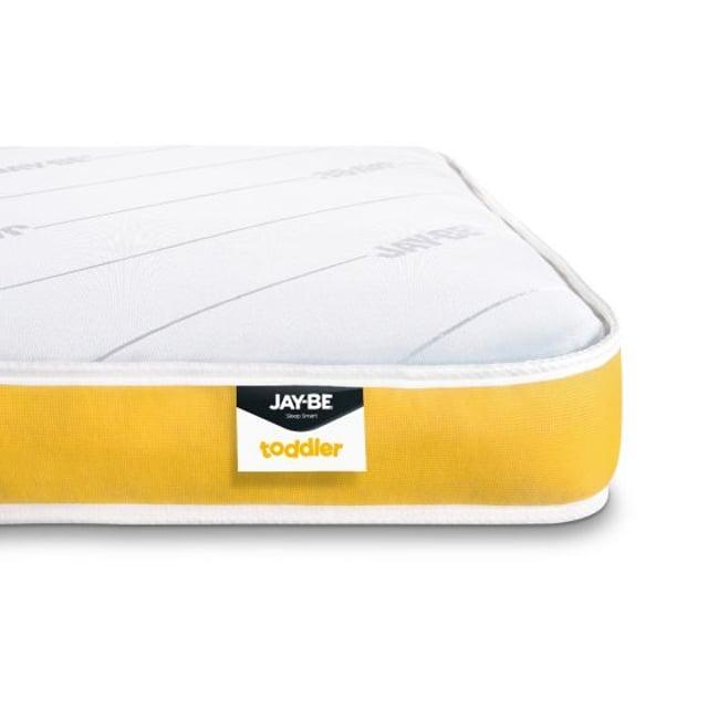 Jay-Be Toddler Foam Free Anti-Allergy Pocket Spring Mattress - 70 x 140 cm