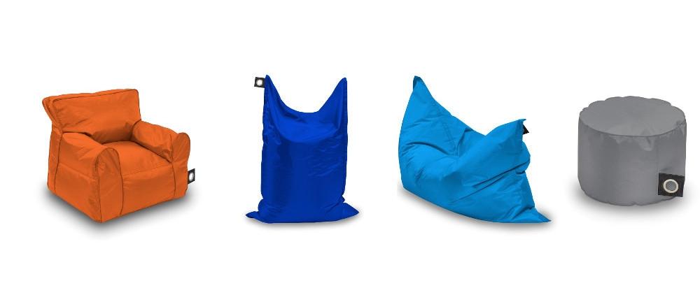 Multi-Coloured Bean Bag Range