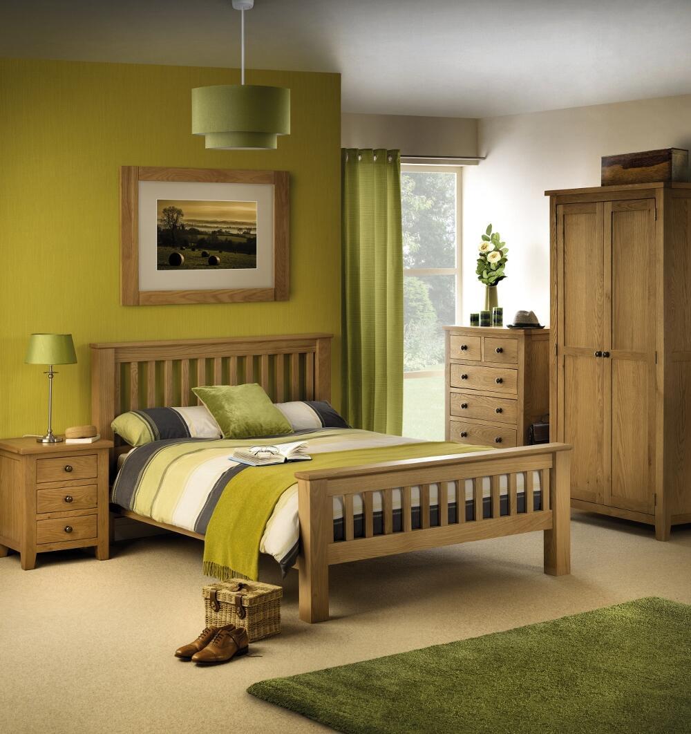 Marlborough Oak Wooden Bedroom Furniture Collection