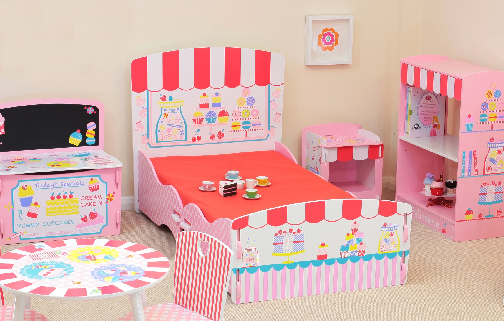 Patisserie Children's Bedroom Furniture Collection