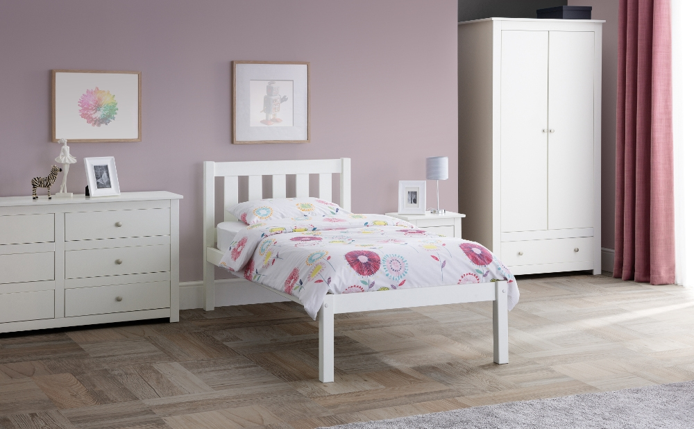 Radley White Wooden Bedroom Furniture Collection