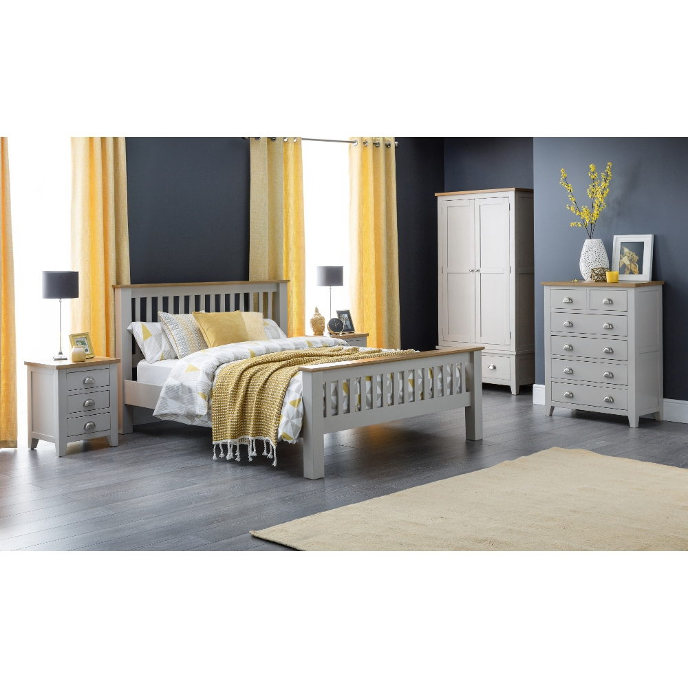 Richmond Grey and Oak Bedroom Furniture Collection