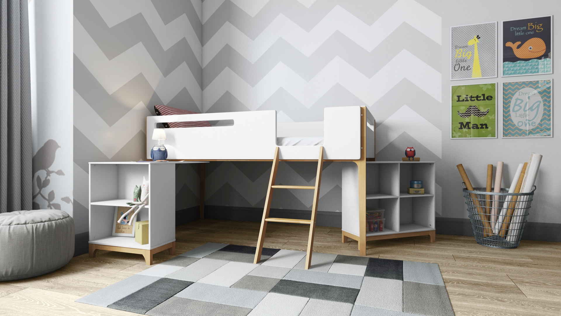 Solar Children's Bedroom Furniture Collection