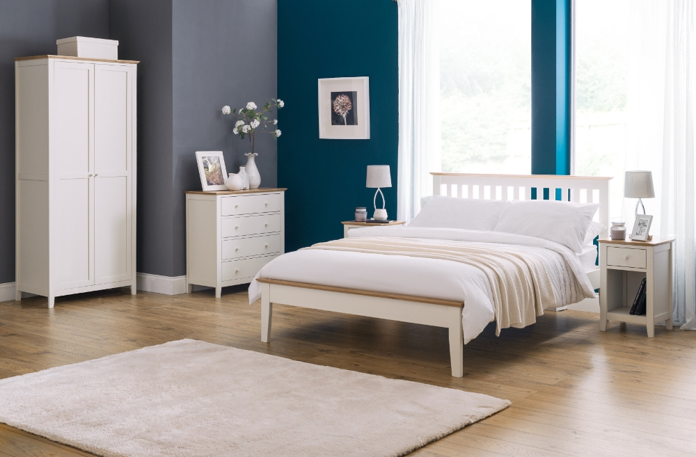 Salerno Ivory and Oak Bedroom Furniture Collection