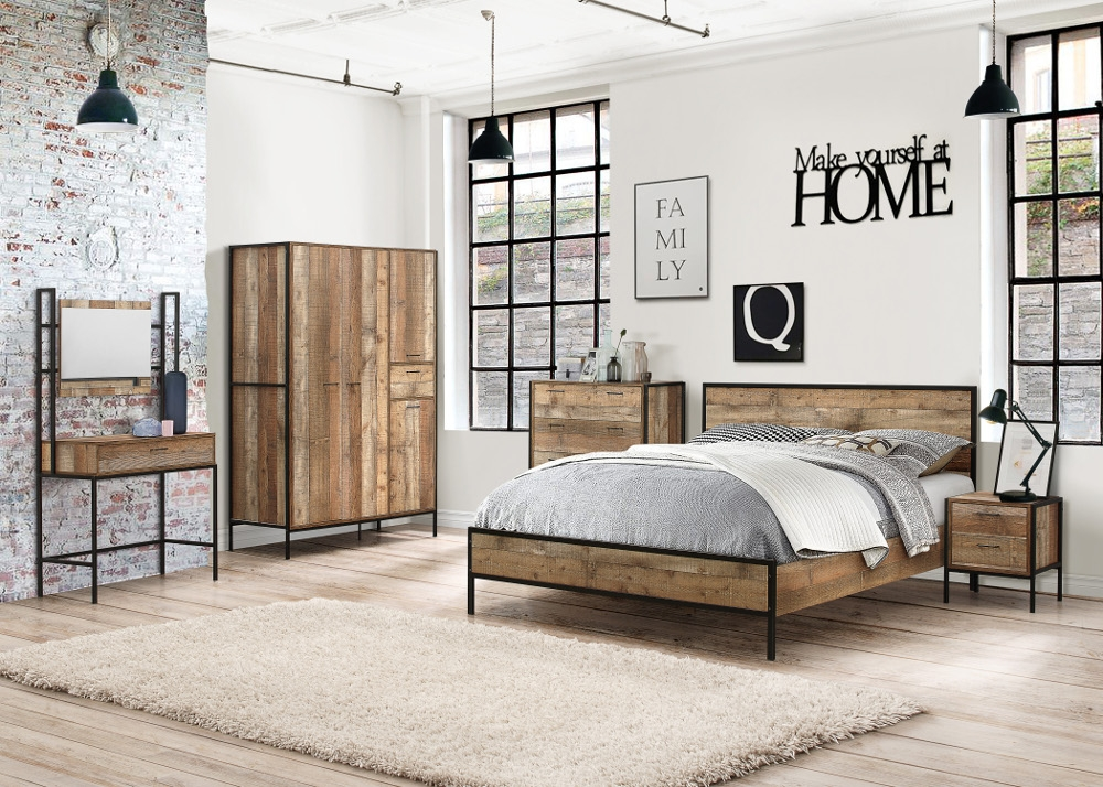 Urban Wooden Bedroom Furniture Collection