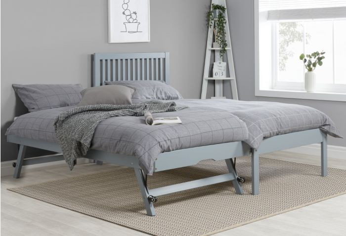 Buxton Grey Wooden Guest Bed