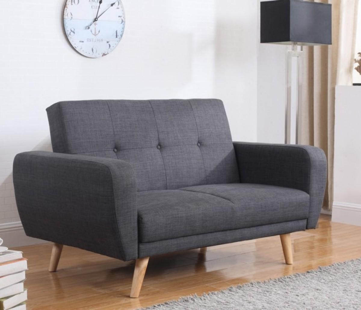 Farrow Grey Fabric Sofa Bed