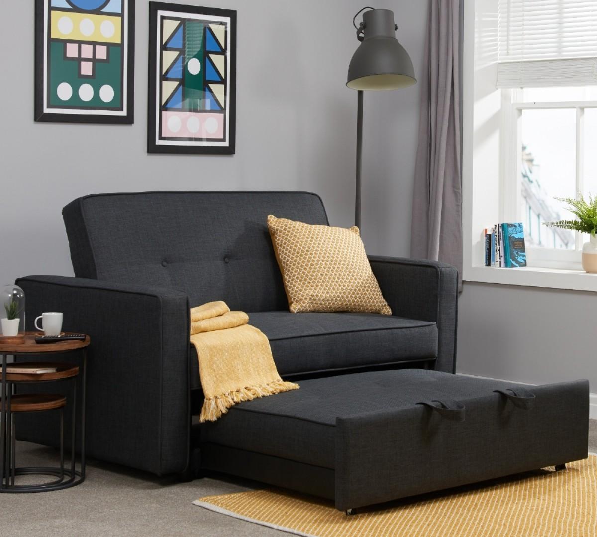 Otto Grey Fabric Sofa Bed
