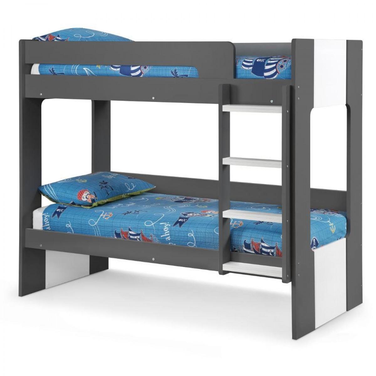 Ellie Grey Wooden Bunk Bed