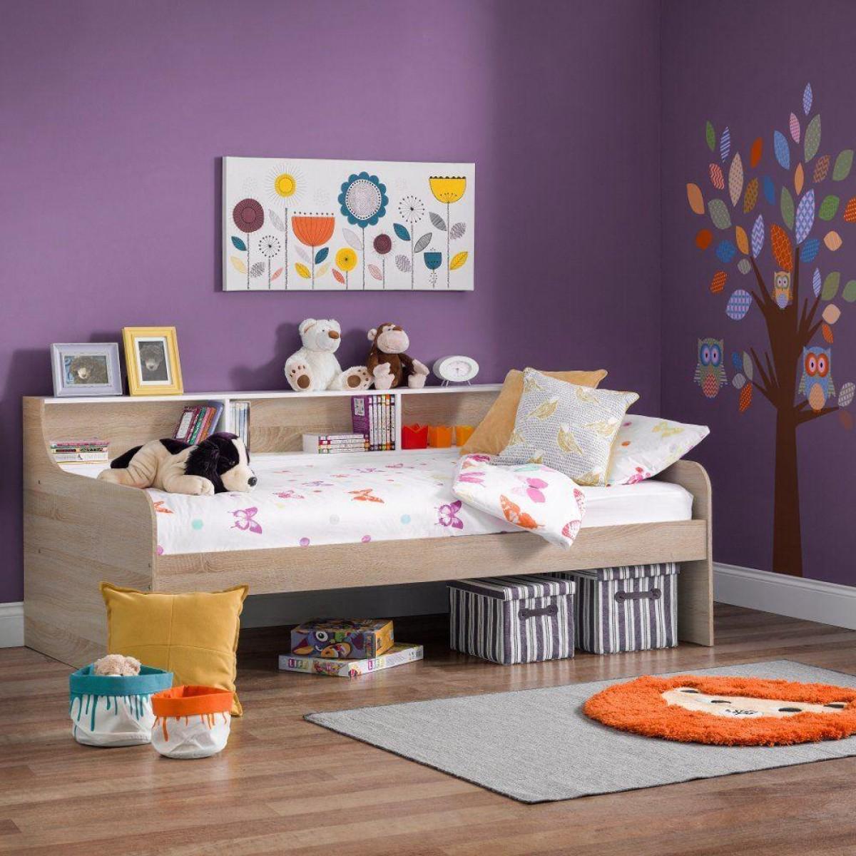 Grace Oak Wooden Day Bed