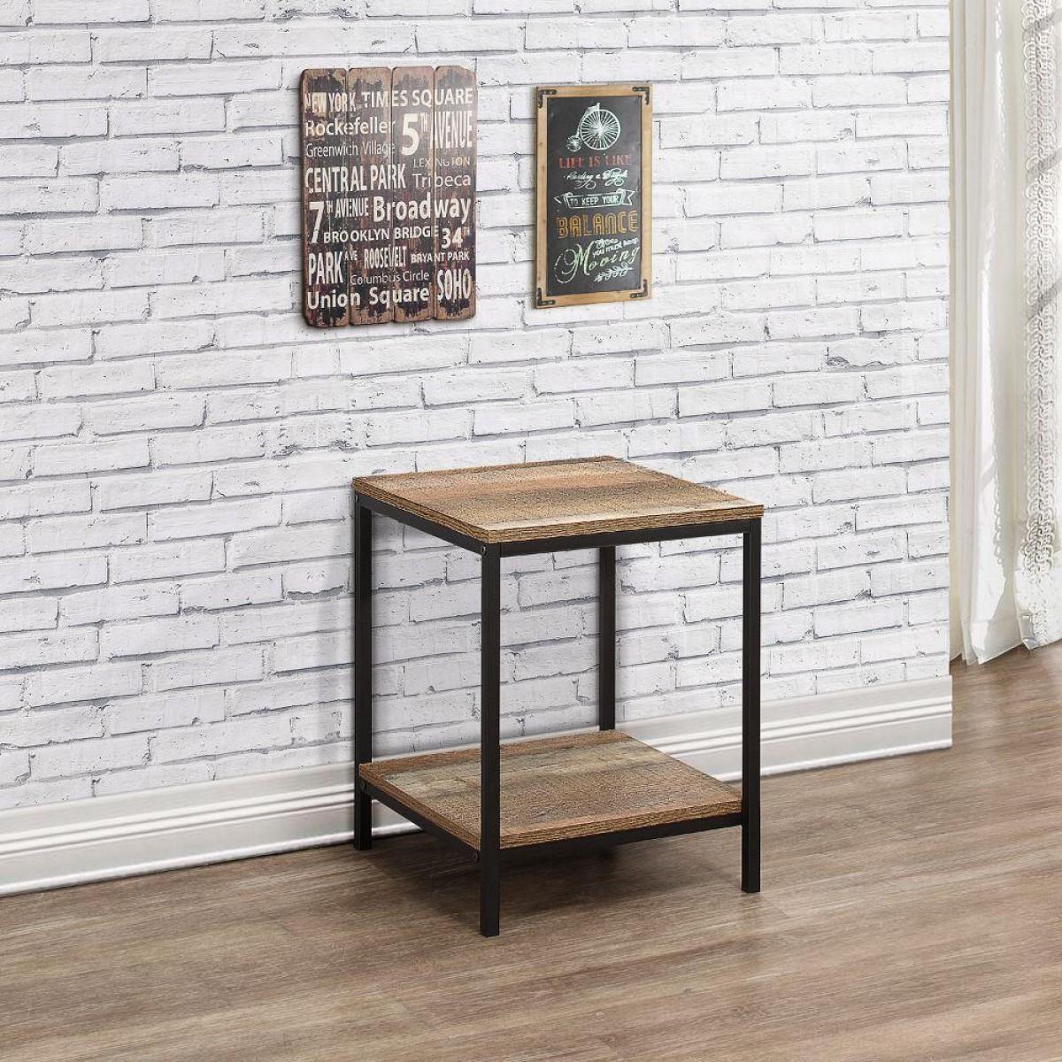Urban Rustic Lamp Table