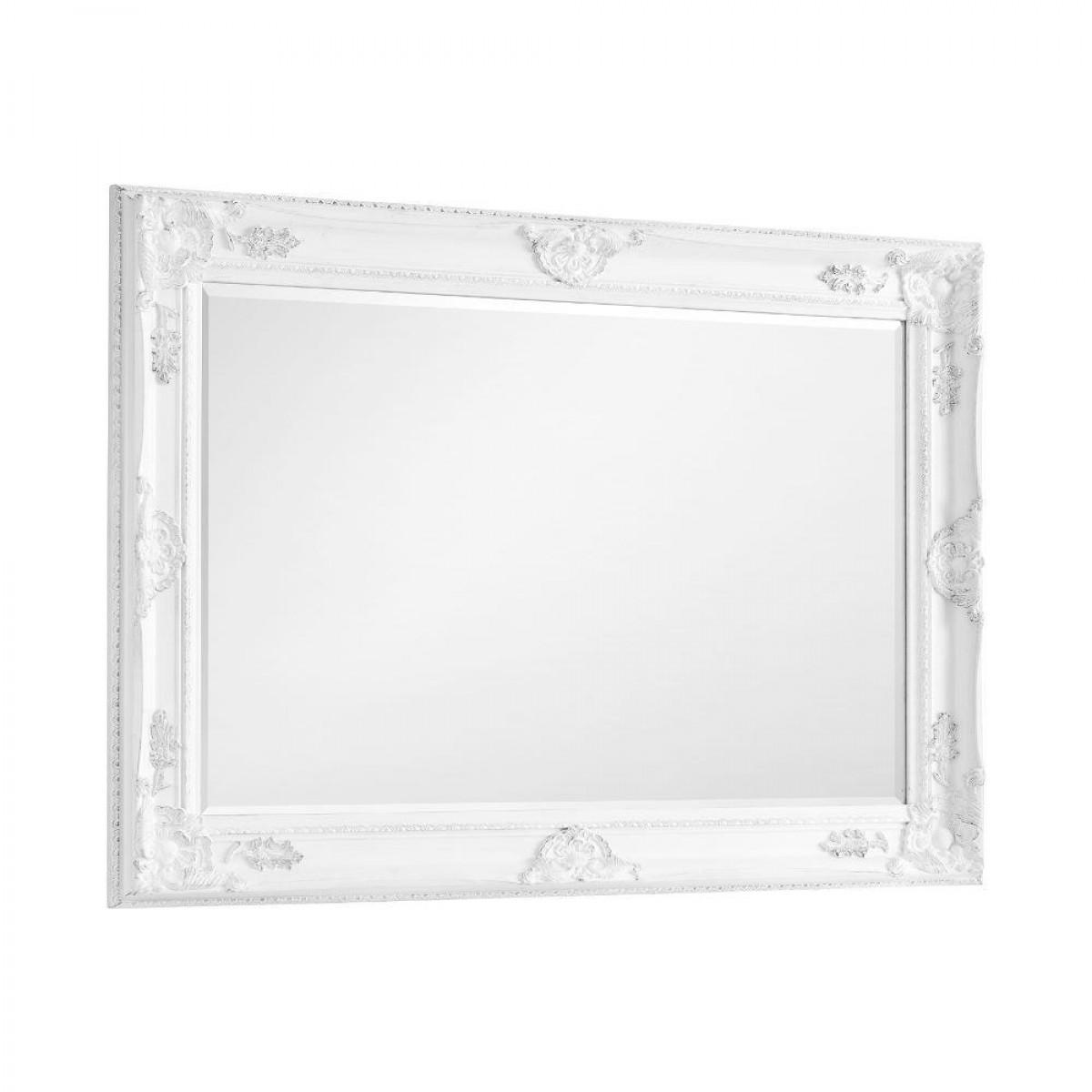 Palais White Wall Mirror - 110 cm x 80 cm