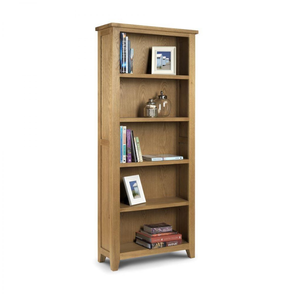 Astoria Oak Tall Bookcase