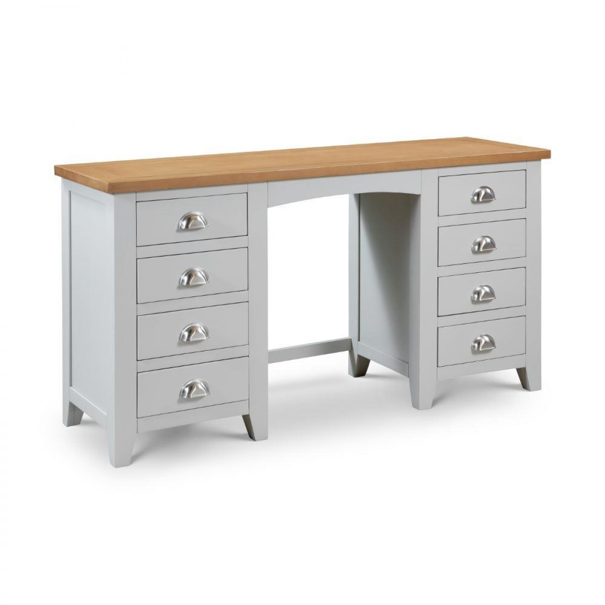 Richmond Grey and Oak Wooden Dressing Table