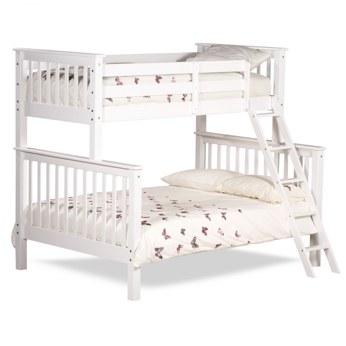 Chiltern White Wooden Triple Sleeper Bunk Bed