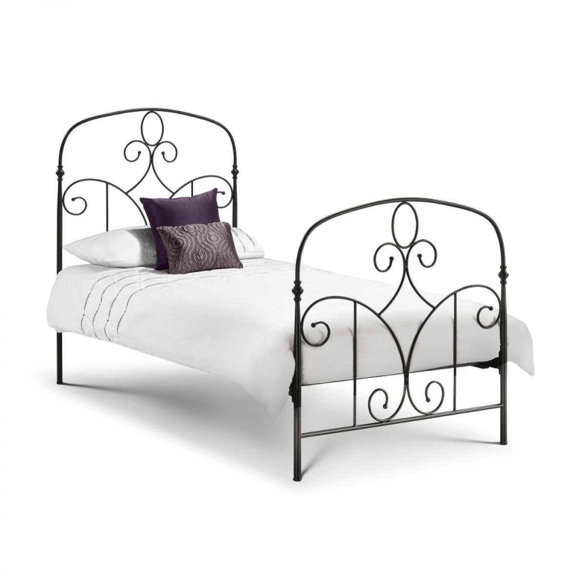 Corsica Black Metal Bed