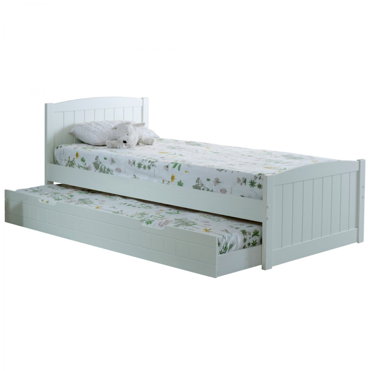 Denver Soft White Wooden Guest Bed