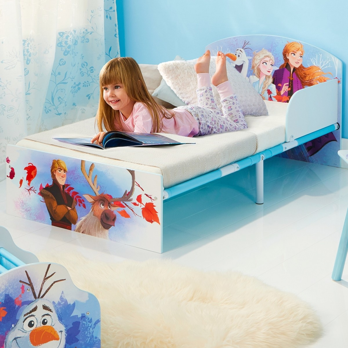 Frozen 2 Toddler Bed
