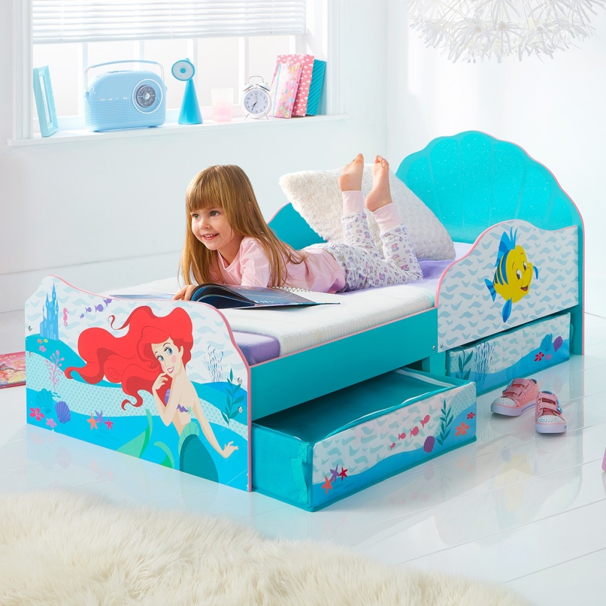 Disney Princess Ariel Toddler Bed