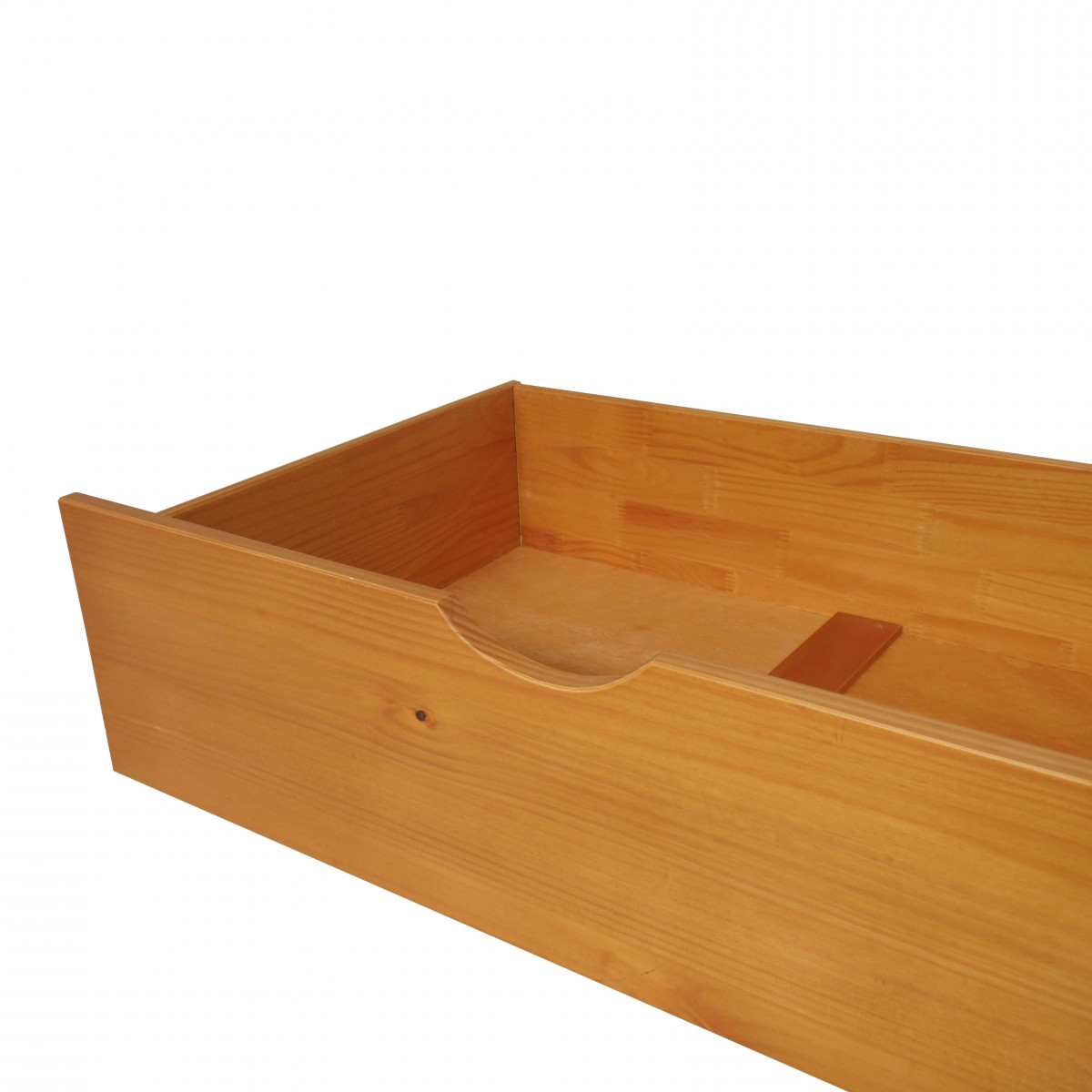 Honey Pine Underbed Storage Drawers - Pair