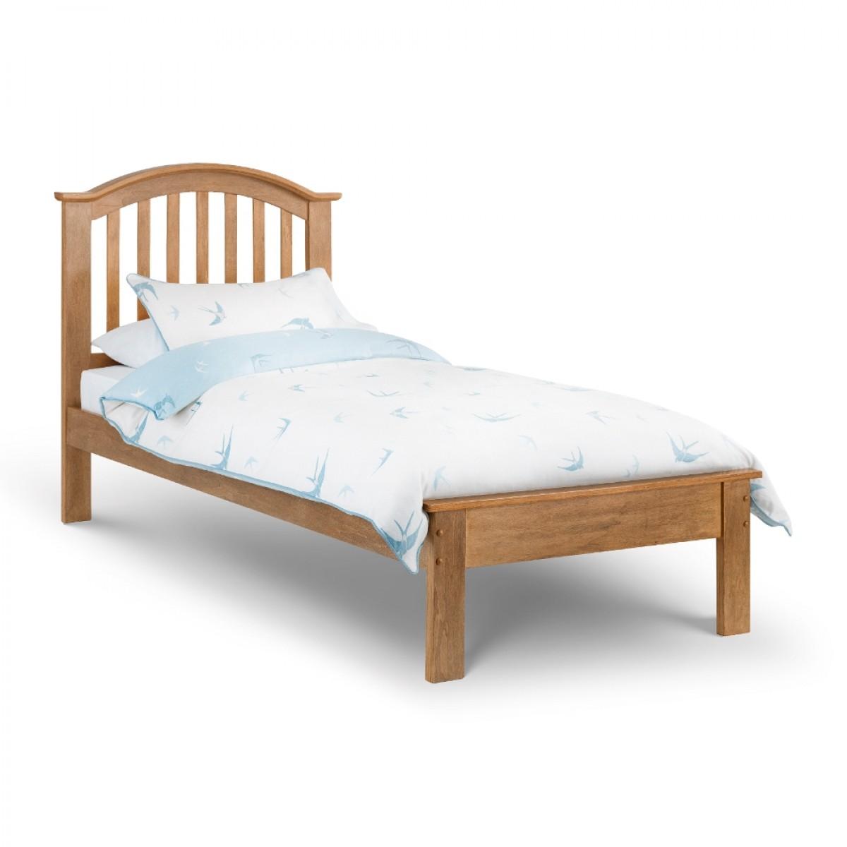 Olivia Oak Finish Wooden Bed