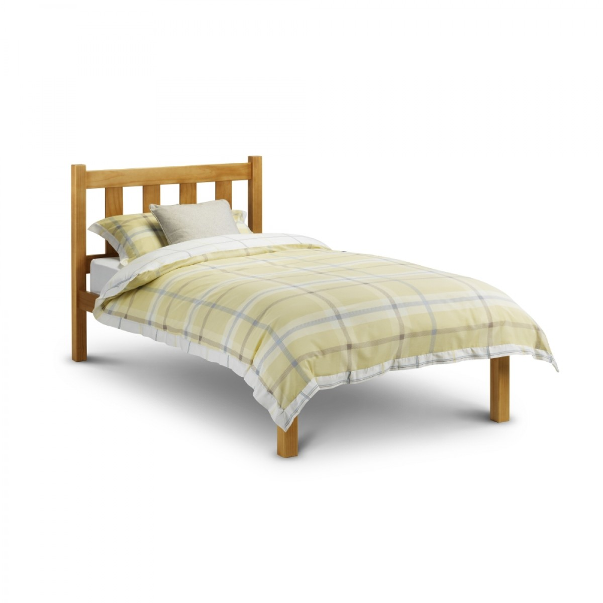 Poppy Antique Solid Pine Wooden Bed