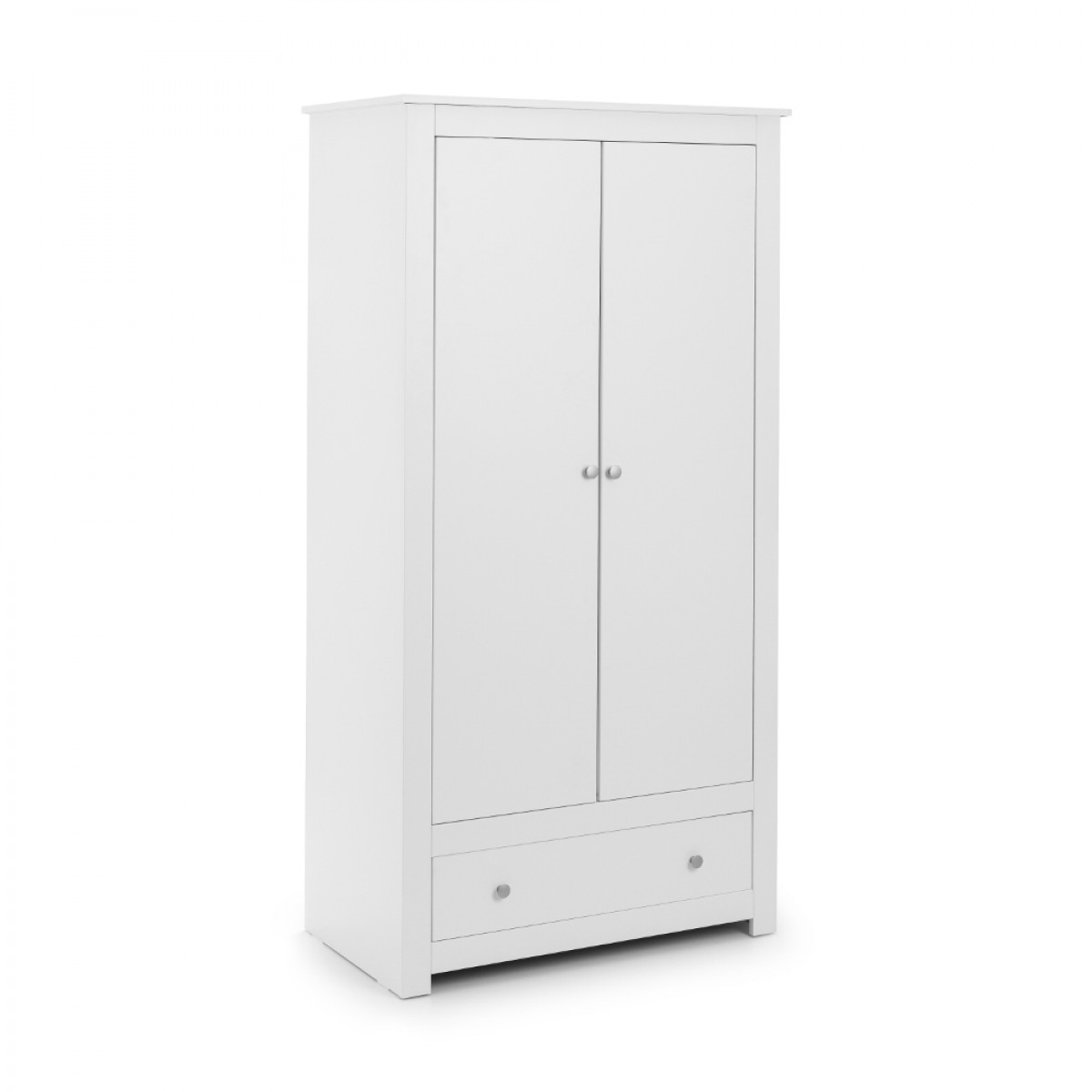 Radley White 2 Door Combination Wardrobe