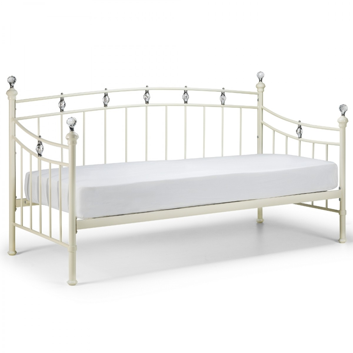 Sophie Stone White Metal Daybed