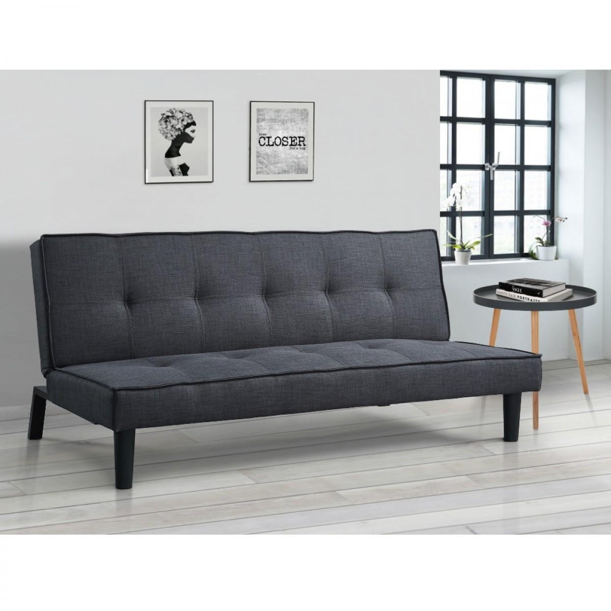 Tyler Grey Fabric Sofa Bed
