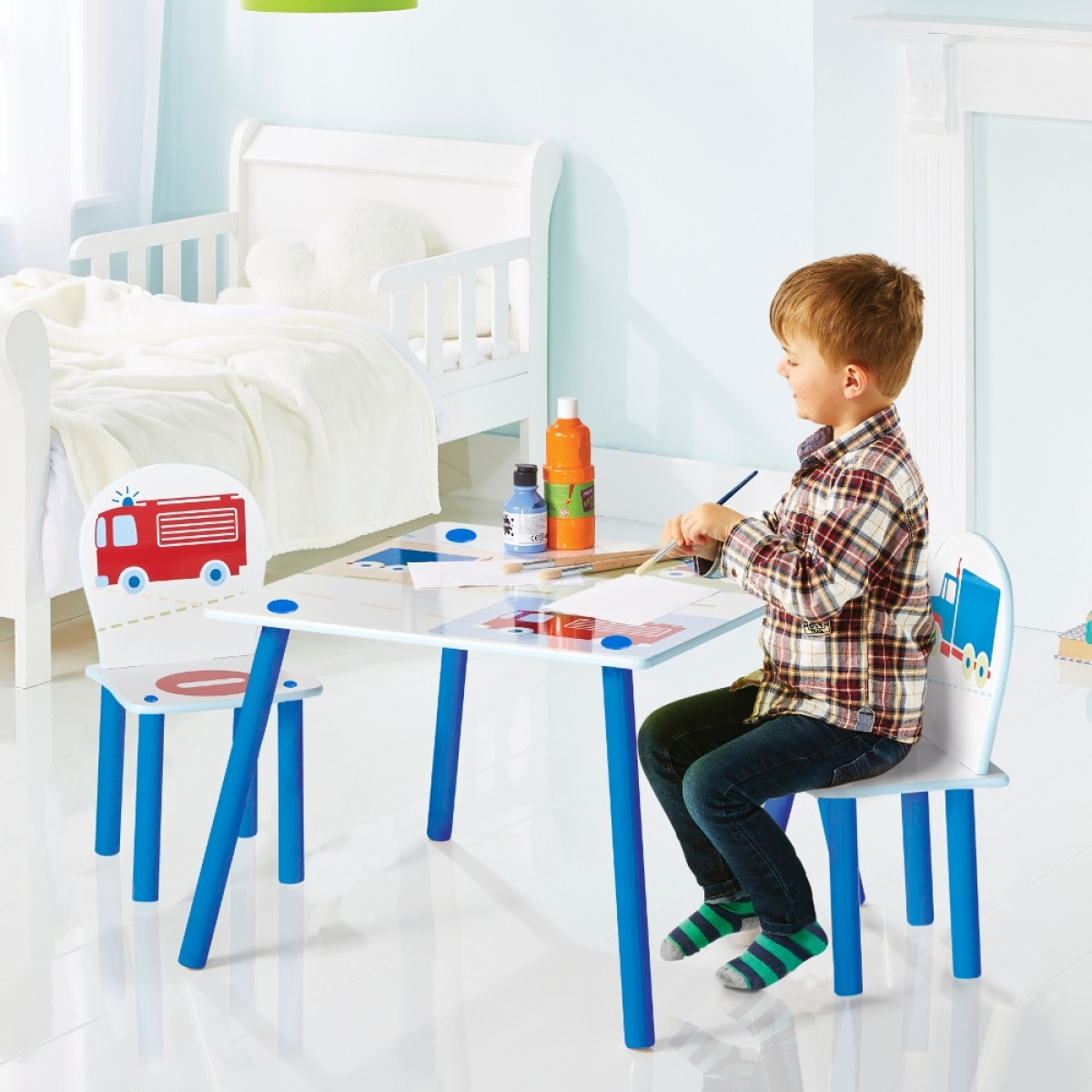 Vehicles Table and Chairs