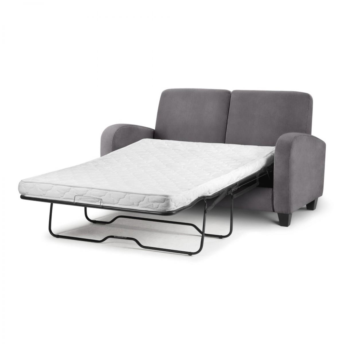 Vivo Grey Fabric Sofa Bed
