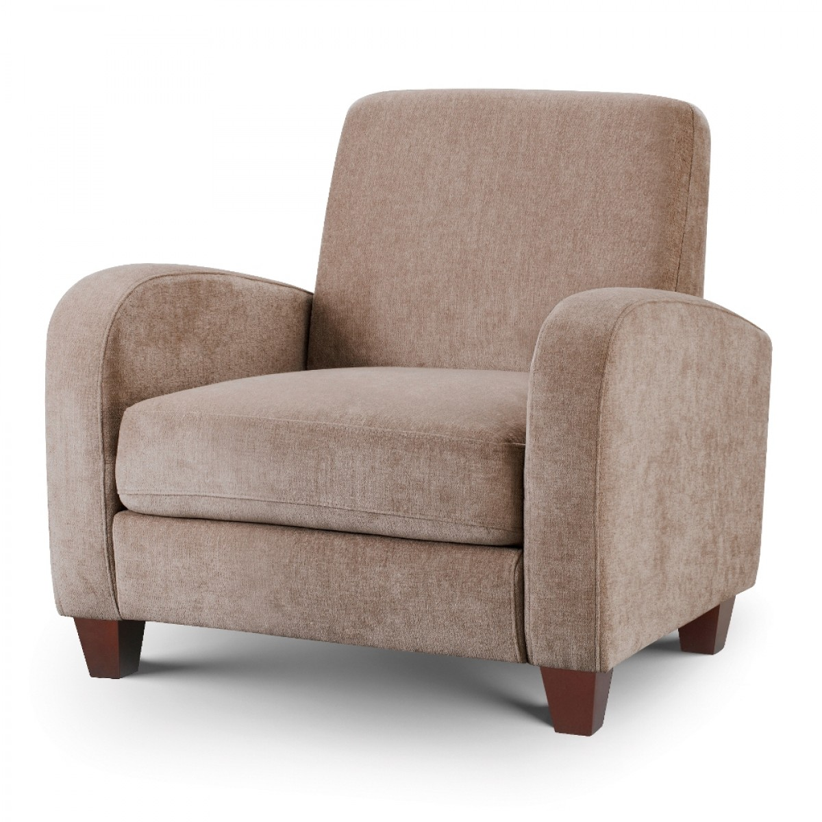Vivo Mink Fabric Chair