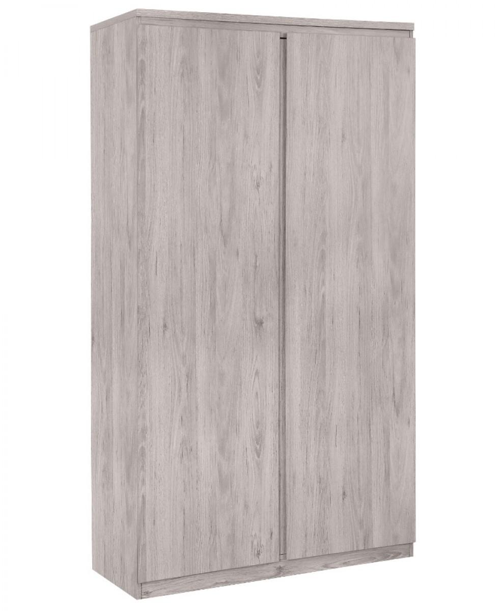 Jupiter Grey Oak 2 Door Wardrobe