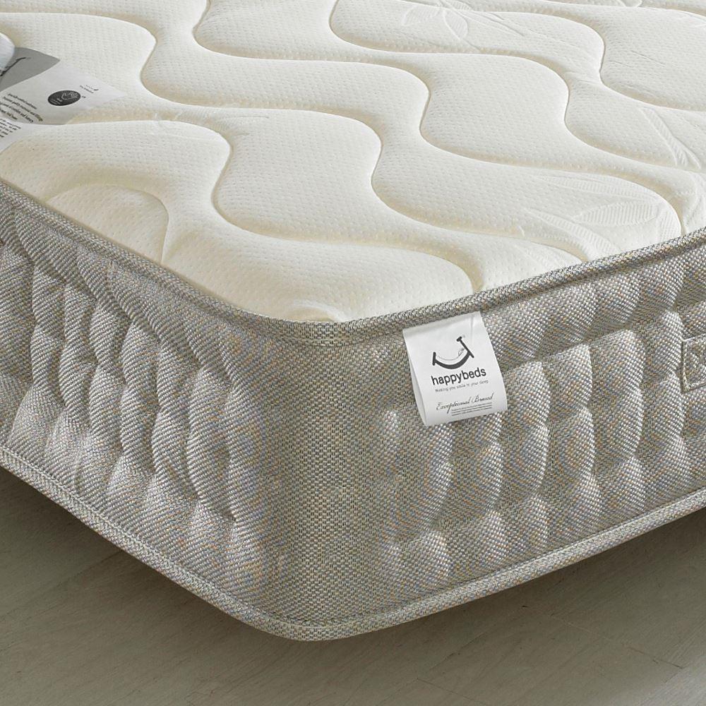 Bamboo 1500 pocket sprung memory and reflex foam mattress for Pocket sprung