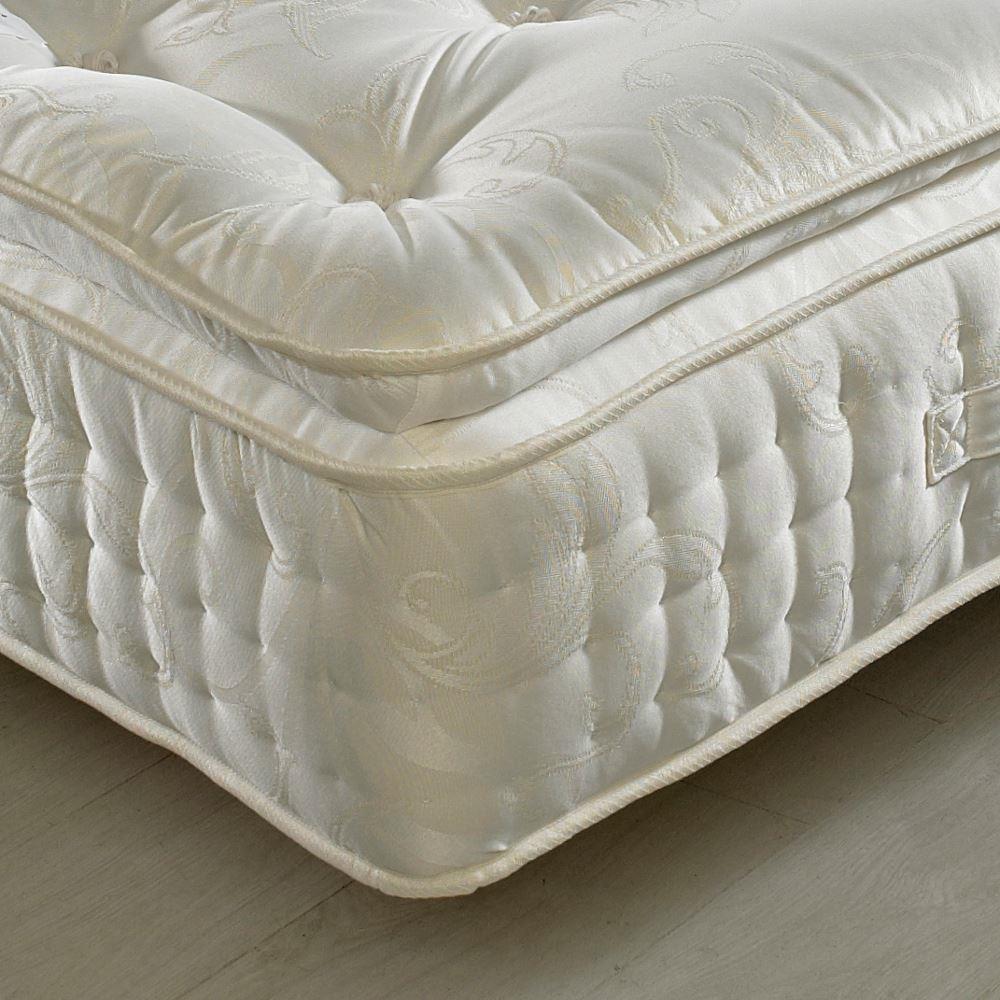 signature pocket sprung pillow top natural fillings mattress
