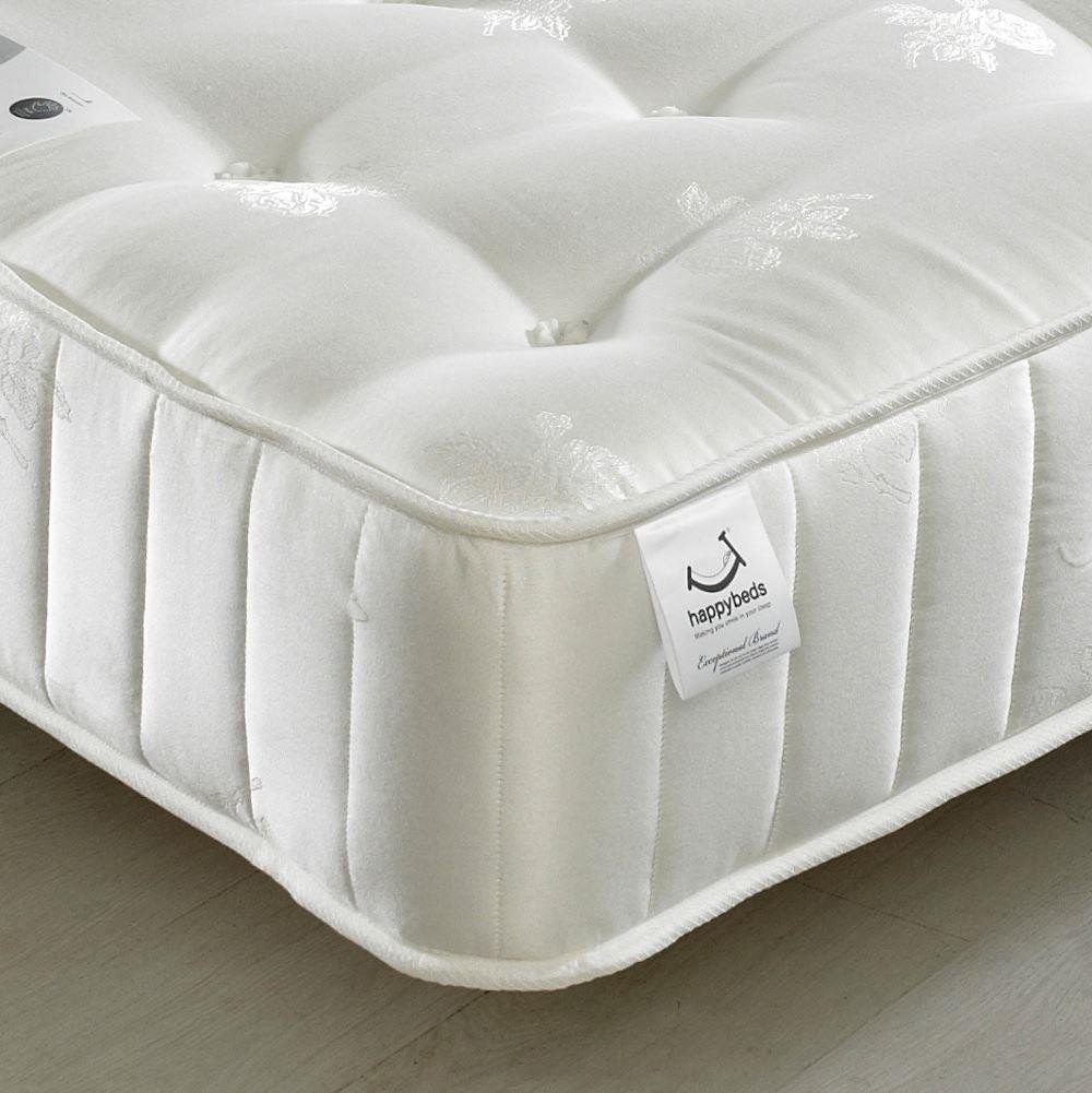 signature crystal pocket sprung orthopaedic natural fillings mattress