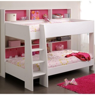 Tam Tam White Wooden Bunk Bed