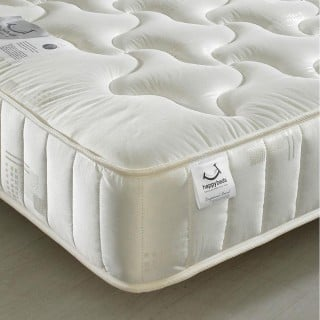 Pinerest Spring Semi-Orthopaedic Quilted Fabric Mattress