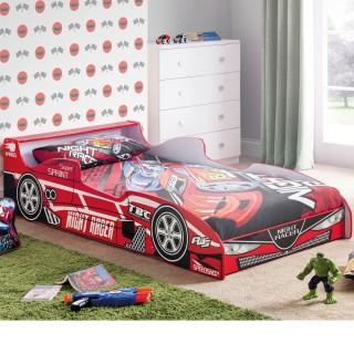 Hornet Speeder Red Wooden Kids Theme Bed