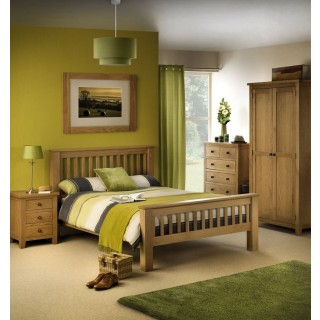 Marlborough Oak Wooden Bedroom Furniture Collection