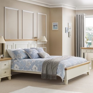 Stupendous Portland Stone White And Oak Wooden Bedroom Furniture Collection Home Interior And Landscaping Synyenasavecom