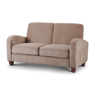 Vivo Mink Fabric 2 Seater Sofa