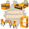 Muddy Friends Children's JCB Digger Toy Box