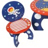 Space Explorer Children's Rocket Ship Table and 2 Chairs