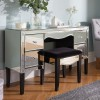 Palermo Mirrored 4 Drawer Dressing Table
