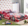 Hornet Speeder Red Wooden Kids Theme Bed