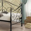 Milano Black Metal Daybed