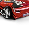 Scorpion Racer Car Red Gloss Wooden Kids Theme Sleigh Bed