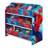 Spiderman 6 Bin Storage Unit